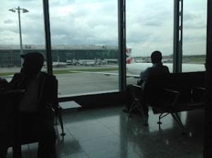 Heathrow T5 Departure to Accra Ghana